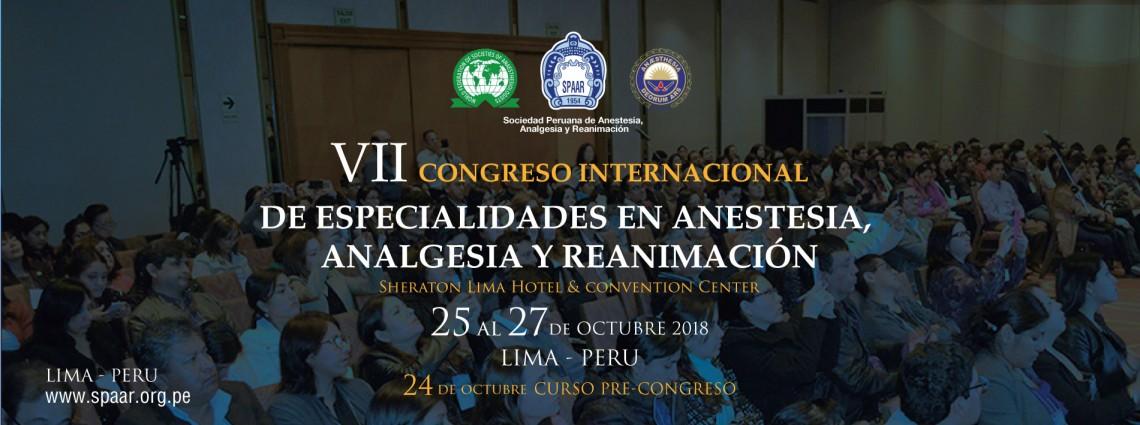 Congreso Peruano de Anestesiología