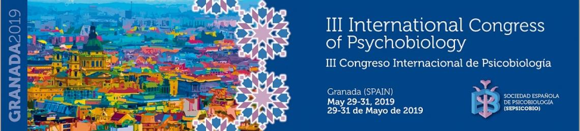 III Congreso Internacional de Psicobiología
